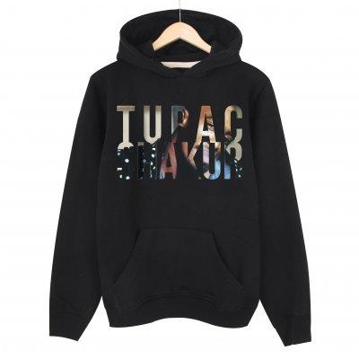 Tupac Shakur Kapşonlu Sweatshirt Hoodie