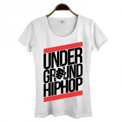 Underground Hiphop Kadın T-Shirt