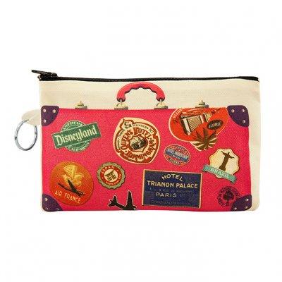Vintage Bavul Bez Cüzdan Clutch El Çantasın- B092-074b